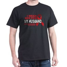 Red For My Husband T-Shirt