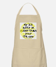 My ICA is cuter BBQ Apron