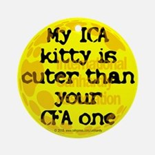 My ICA is cuter Keepsake (Round)