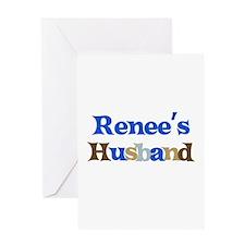 Renee's Husband Greeting Card