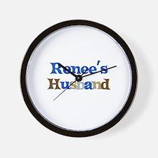 Renee's Husband Wall Clock