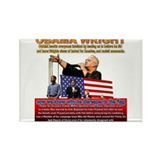 Anti Obama Rectangle Magnet (100 pack)