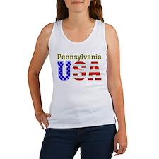 Pennsylvania USA Women's Tank Top