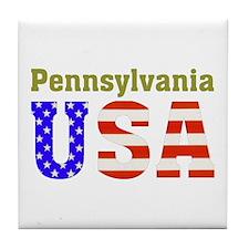 Pennsylvania USA Tile Coaster