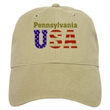 Pennsylvania USA Baseball Cap
