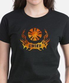 Fire Chiefs Flame Tattoo Tee