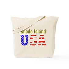 Rhode Island USA Tote Bag