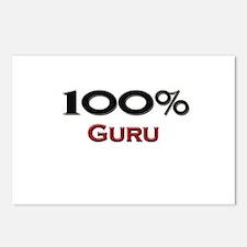 100 Percent Guru Postcards (Package of 8)