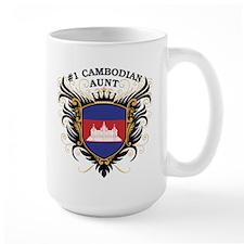 Number One Cambodian Aunt Mug