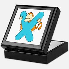Zoo Alphabet X - Monkey Keepsake Box