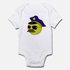 Cop Smiley Infant Bodysuit