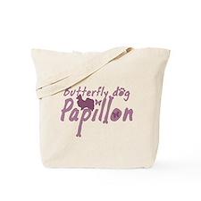 Pastel Pink Papillon Tote Bag