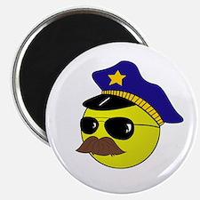 Cop Smiley Magnet