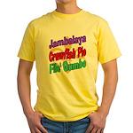 Jambalaya, Crawfish Pie, File Yellow T-Shirt