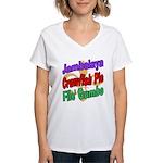 Jambalaya, Crawfish Pie, File Women's V-Neck T-Shi