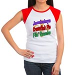 Jambalaya, Crawfish Pie, File Women's Cap Sleeve T