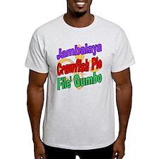 Jambalaya, Crawfish Pie, File T-Shirt