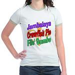 Jambalaya, Crawfish Pie, File Jr. Ringer T-Shirt