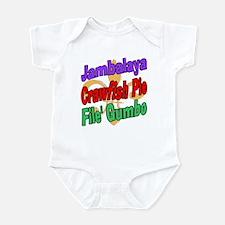 Jambalaya, Crawfish Pie, File Infant Bodysuit