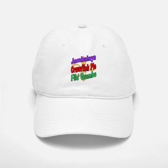 Jambalaya, Crawfish Pie, File Baseball Baseball Cap