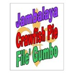 Jambalaya, Crawfish Pie, File Small Poster