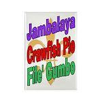 Jambalaya, Crawfish Pie, File Rectangle Magnet (10