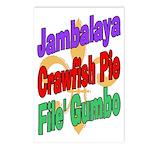 Jambalaya, Crawfish Pie, File Postcards (Package o