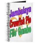 Jambalaya, Crawfish Pie, File Journal
