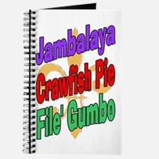 Jambalaya, Crawfish Pie, File Journal