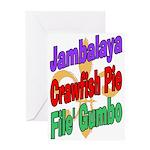 Jambalaya, Crawfish Pie, File Greeting Card