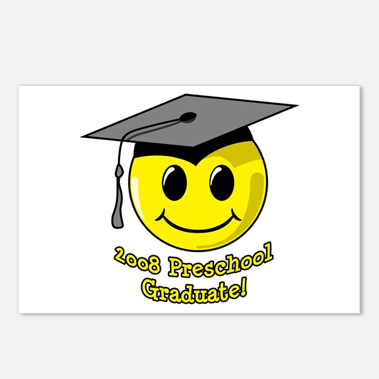 Preschool Graduation Postcards (Package of 8)
