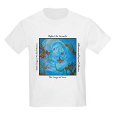 Flight of the Monarch Butterflies Kids T-Shirt
