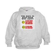 KEEP YOUR WIFE HAPPY Hoodie
