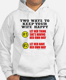 KEEP YOUR WIFE HAPPY Jumper Hoody