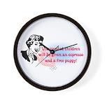 Sarcastic Children Quote Wall Clock