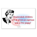 Sarcastic Children Quote Rectangle Sticker 10 pk)