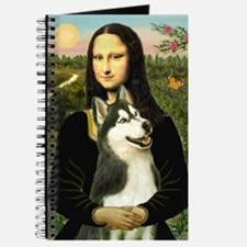 Mona Lisa & Siberian Husky Journal