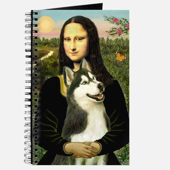 Mona Lisa & Siberian Husky Journal