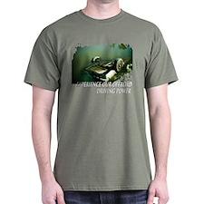 Black Summer Clothing Off-road driving T-Shirt