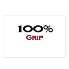 100 Percent Grip Postcards (Package of 8)