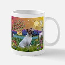 Fantasy Land & Jack Russell Terrier Mug
