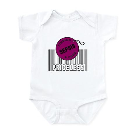 SEPSIS FINDING A CURE Infant Bodysuit