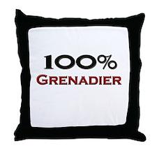 100 Percent Grenadier Throw Pillow