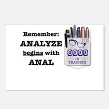 Anal Postcards (Package of 8)