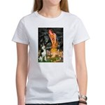 Mid.Eve / Siberian Husky Women's T-Shirt