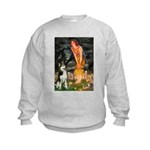 Mid.Eve / Siberian Husky Kids Sweatshirt