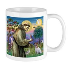 St. Francis & Jack Russell Terrier Mug
