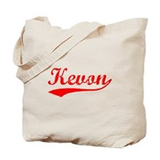 Vintage Kevon (Red) Tote Bag