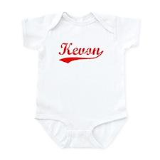 Vintage Kevon (Red) Infant Bodysuit