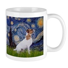 Starry Night & Jack Russell Terrier Mug